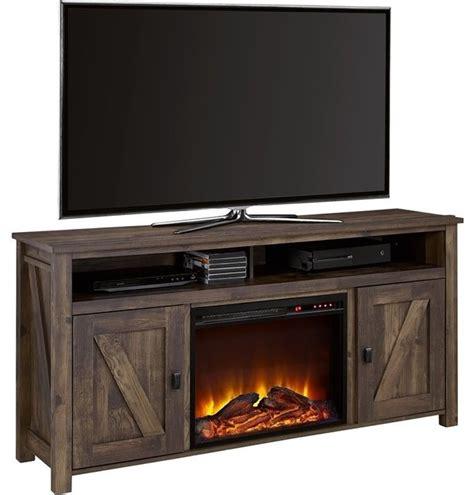 barnwood entertainment center best of best 25 farmhouse altra furniture farmington 60 quot fireplace tv stand