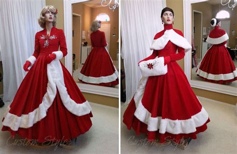 white christmas dresses for the fantasy of lights custom