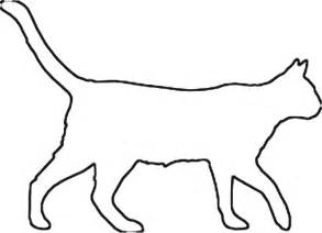 cat drawing template cat outline clipart clipart suggest