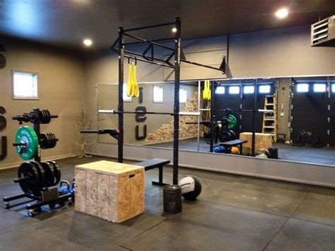 pretty solid rogue garage crossfit set up crossfit