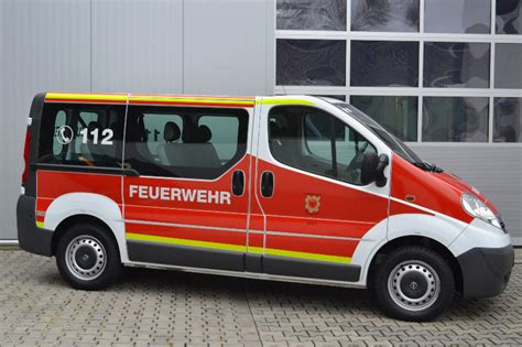3m Folie Ral 3000 by Opel Vivaro Der Feuerwehr Vg Rhaunen Mit Design112 Fl 228 Chen