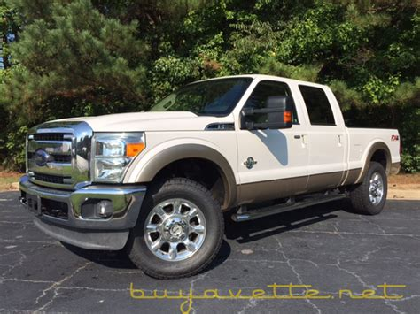 2012 ford f250 diesel 2012 ford f250 duty fx4 lariat diesel for sale