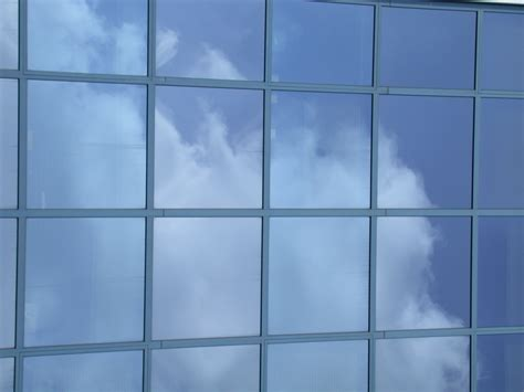 glass window image after textures glass windows building clouds sky