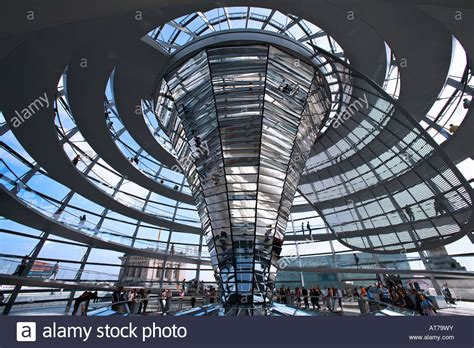interior berlin interior of the reichstag dome by norman foster in berlin