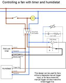Kitchen Extractor Fan Electrical Connection Extractor Fan Wiring Diywiki
