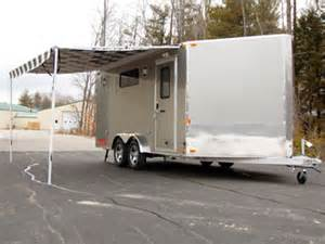car trailer awnings proline options trailer awning