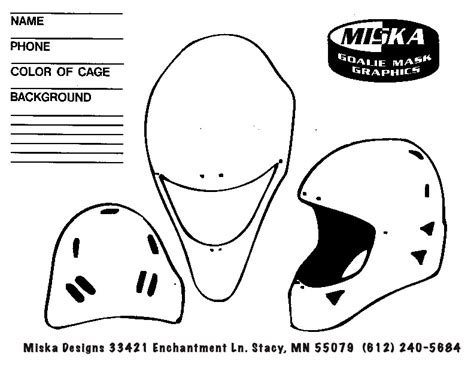 hello mask template 111