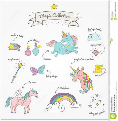 magic doodle free magic set unicorn rainbow and stock