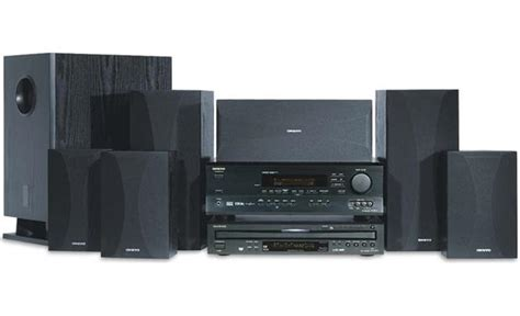 onkyo ht s767c 6 1 channel component dvd home theater