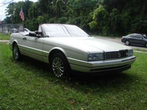 Cadillac Convertible Sports Car by Find Used 1988 Cadillac Allante Convertible Sports Car