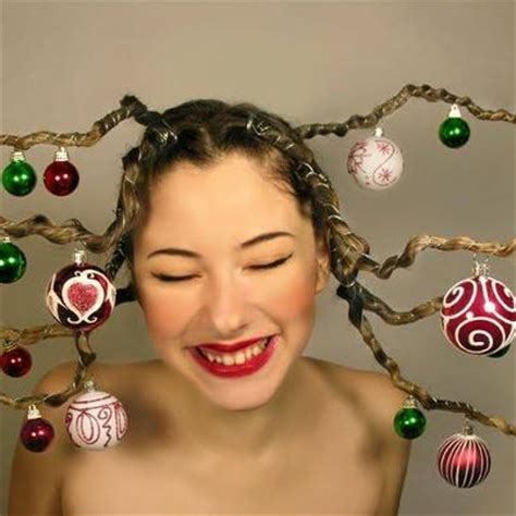 christmas hair style fashion belief