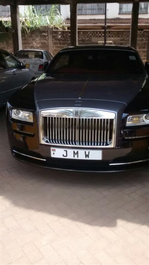 roll royce kenya meet jimi wanjigi s high end car which breaks necks on