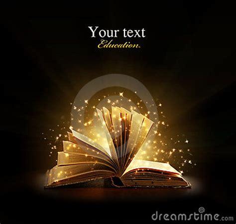 libro winter magic magical book stock photos image 21535113