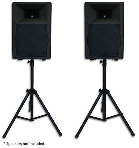 Tripod Speaker audio visual speaker set large with tripod stands mixer board