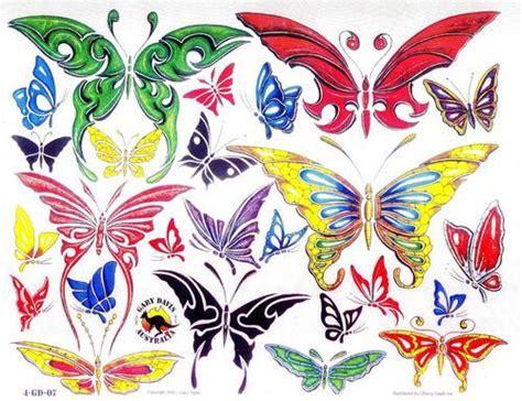 花と蝶のデザイン画像2 beauty58 jpg tattoo hearties