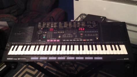 Keyboard Yamaha Cnr 50 Yamaha Pss 51 Keyboard 3 Demonstration Songs