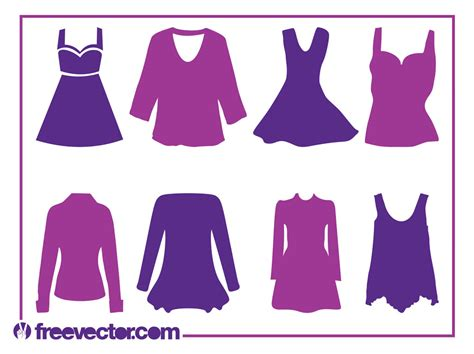 s clothes silhouettes