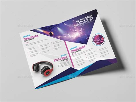 a5 brochure template dj a5 brochure template by wutip2 graphicriver