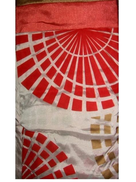 coral geometric curtains geometric circles coral fabric shower curtain