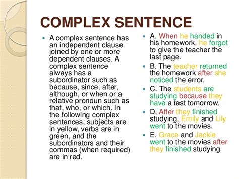 sentence pattern in english to tamil all worksheets 187 complex sentences worksheets year 5