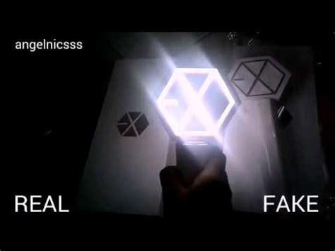 Lightstick Exo Ver 2 how to if ur exo lightstick ver 2 is real or not