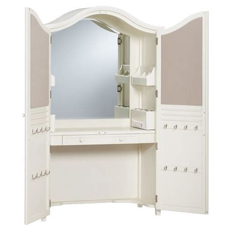 makeup armoire vanity vanity armoire pbteen home pinterest armoires and