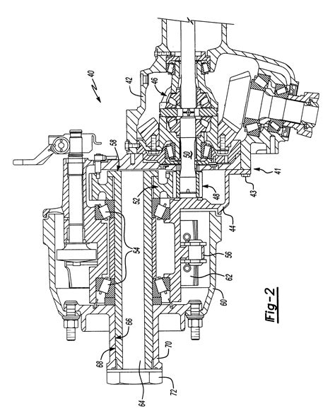 design portal frame exle patent us6695738 inverted portal axle rotating spindle