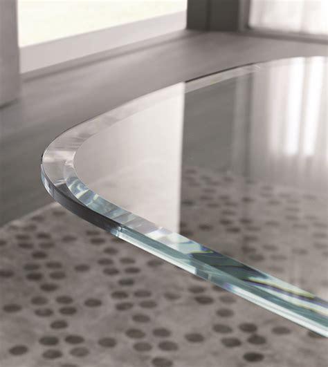 misuraemme tavoli tavolo rettangolare in vetro ala collezione atelier by