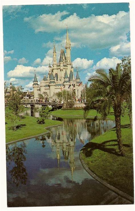 walt disney world postcard cinderella castle 3x5 0110203