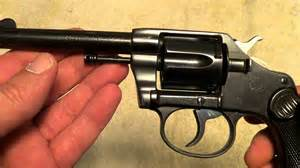 Colt new police revolver 32 n p made 1904 youtube