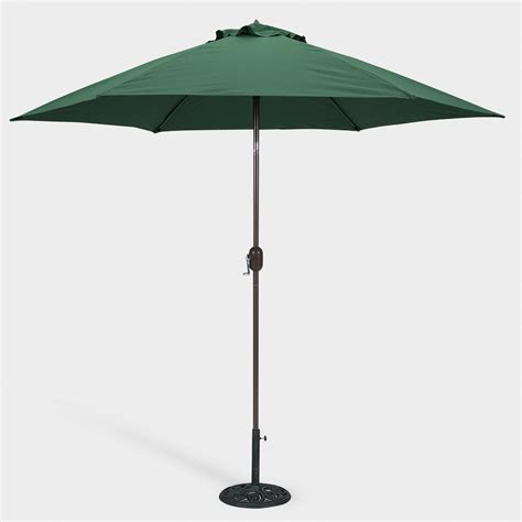 Green 9 Ft Round Umbrella World Market World Market Patio Umbrellas