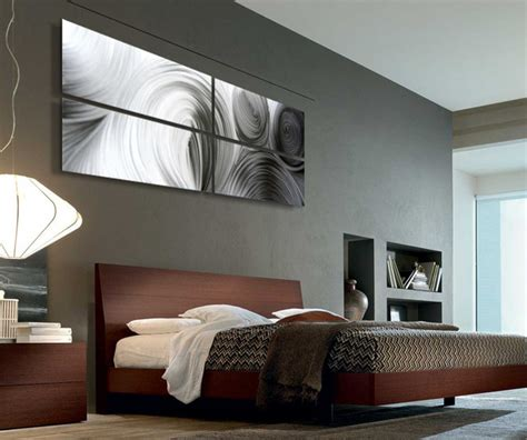 modern art for bedroom abstract metal art modern bedroom salt lake city