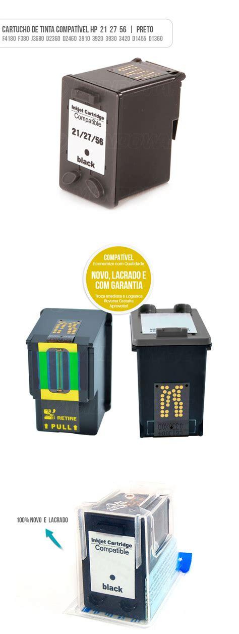 Tinta Hp27 cartucho de tinta preto compat 237 vel para hp f4180 d1360 mundoware