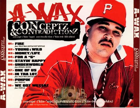 a wax a wax conceptz contradictionz cd rap music guide