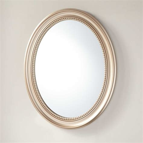 recessed mount medicine cabinet favaloro recessed mount oval medicine cabinet with mirror