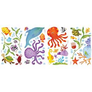 pics photos under the sea wall stickers under the sea wall stickers bathroom wall stickers