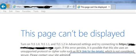 that page can t be sharepoint charul bhargava this page can t be displayed turn on tls 1 0 tls 1 1 and tls 1
