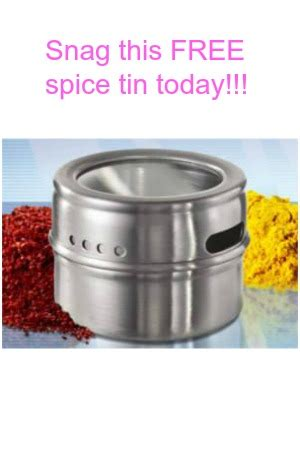 Tobacco Company Giveaways 2016 - snag a free metal spice tin from l m today snag free