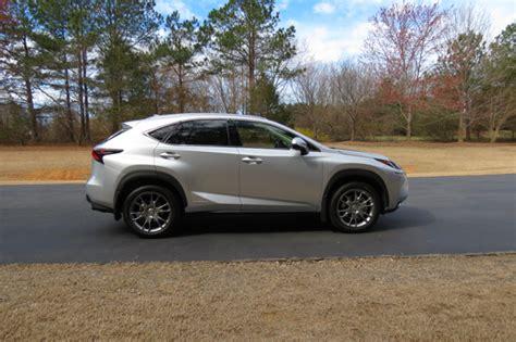 lexus nx hybrid shines in a niche segment auto trends