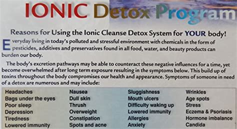 Ionic Foot Detox Poster by Ion Detox Ionic Foot Bath Spa Chi Cleanse Promotional
