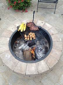 pit with grill build a pit with cooking grill in your backyard