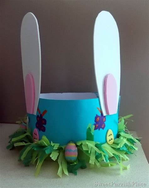 How To Make A Paper Easter Bonnet - cool easter bonnet or hat ideas hative