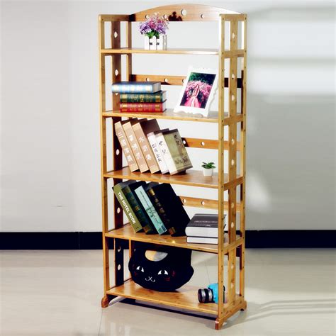 get cheap bamboo bookshelf aliexpress
