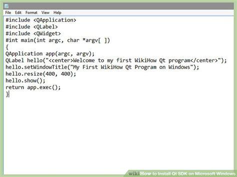 qt programming on windows 6 easy ways to install qt sdk on microsoft windows