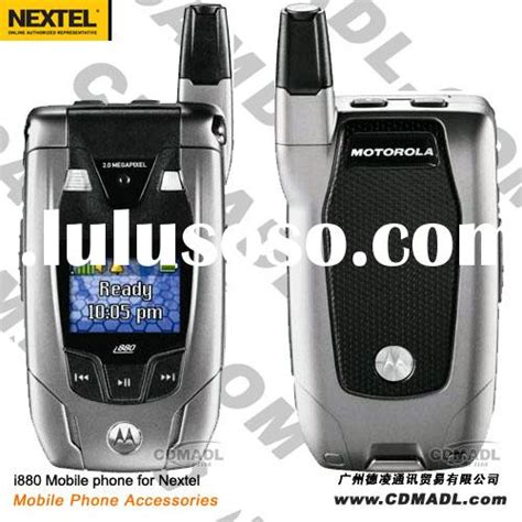 Lcd Sony Ericsson W20 New Original i880 silver mobile phone for nextel i880 silver mobile