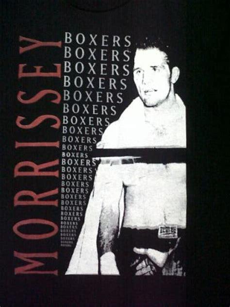 Morrisey Cover Tees By Gildan Original vintage 90s morrissey boxers tour t shirt