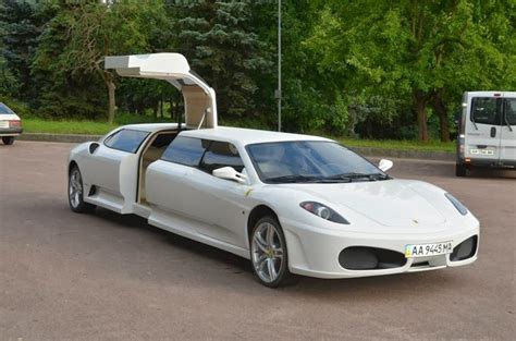 limousine ferrari ferrari f430 stretch limousine photos drive away 2day