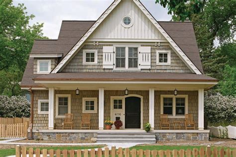 William Poole Designs by Acadian Raised Cottage House Plans