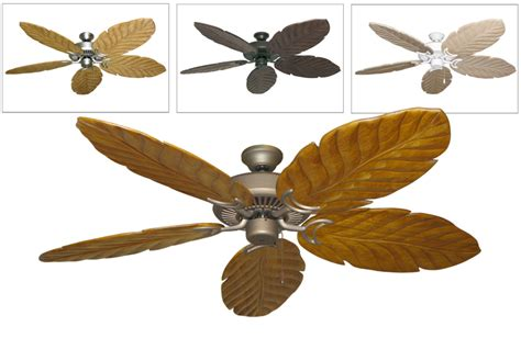 arbor blade riviera ii tropical ceiling fan with 58 quot arbor