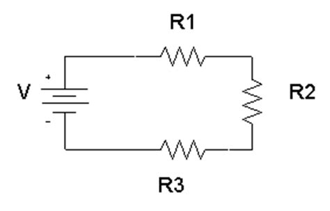 series resistors current series and parallel circuits physics